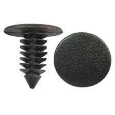 120pc Automotive Bumper Door Clip Trim Retainer Push Rivet Fastener Fit 9mm Hole