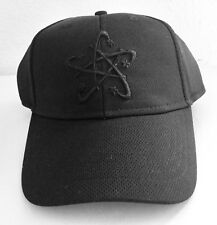 New Star Companies Men's 3D Embroidery Golf Hat Black Strapback Cap Osfm