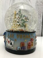 Welcome to Fabulous Las Vegas Nevada Musical Snow Globe Good Used Condition