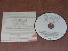 FRIDA GOLD - ZEIG MIR WIE DU TANZT / 1 TRACK MAXI-CD 2010 MINT! IM CARDSLEAVE