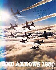 RED ARROWS: 1980 16th SEASON OFFICIAL BROCHURE - FACSIMILE EDITION