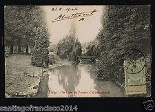 Belgie 68.-Liege -1906 Un Coin du Jardin d'Acclimatation
