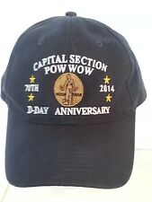Capital Section Pow Wow ROYAL RANGERS 70th D-Day Anniversary 2014 Ball Cap Hat