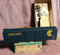 Athearn Corinth & Counce  Railroad Company Boxcar Kit            HO Scale