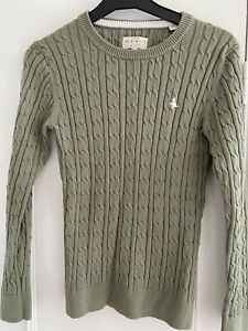 jack wills cable knit jumper