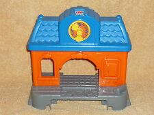 Fisher Price Little People Replacement Train Station Clock for Train Tracks