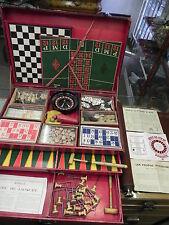 Antiker Frankreich  Spiele Kasten(jeux de société) selten  komplett