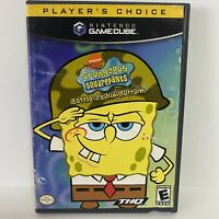 NINTENDO GAMECUBE SPONGEBOB SQUAREPANTS BATTLE FOR BIKINI BOTTOM VIDEO GAME! CIB