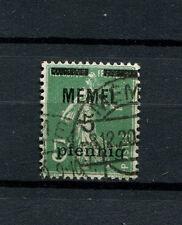 Memel - Nr. 18b gestempelt   (D609)