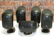 5 x Bowers & Wilkins B&W M1 Series 1 Home Cinema Surround Sound Loudspeakers