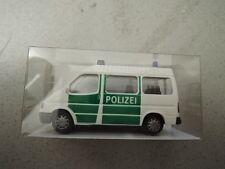 Rietze 50710 Ford Transit Bus Polizei grün/weiß in OVP aus Polizei-Sammlung (*4)