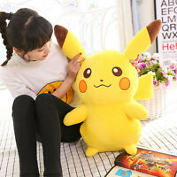 12'' Big Stuffed Teddy Doll POKEMON Pikachu Soft Plush Stuffed Animal Kids Gift
