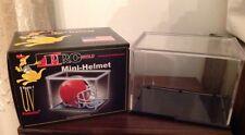Mini Football Helmet Display Case.  PRO MOLD.   NEW