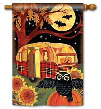 New listing BreezeArt Flag Halloween Camper Large Garden Yard Patio House Banner 28 x 40