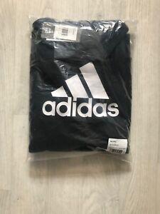 boys black adidas hoodie age 15/16