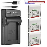 Kastar Battery Slim Charger for Kodak LB-060 & Kodak PixPro AZ421 PixPro AZ501