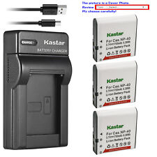 Kastar Battery Slim Charger for Kodak LB-060 & Kodak PixPro AZ421 PixPro AZ501