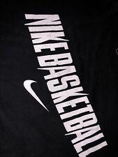 Mens Nike Basketball Shirt L Red Black Print Retro Vintage Og