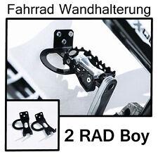 2 RAD BOY FAHRRAD Wandhalter Fahrradhalter FAHRRADSTÄNDER Fahrradhalterung