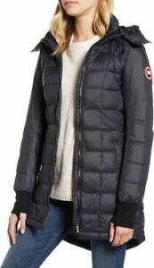 Canada Goose WOMEN'S ELLISON Black DOWN JACKET Style # 2209L Size L $695