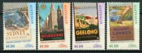 Australia Art Stamps 2020 MNH Princess Highway Travel Posters Design 4v Set