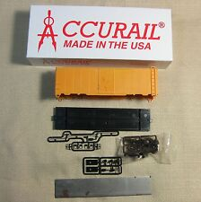 Accurail 3500 HO Scale AAR 40' Steel Box Car Kit Undecorated