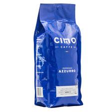 CAFFE CIMO - AZZURRO Premium Espresso Whole Beans/ Italian Roast 2 X 1KG/2.2LBS