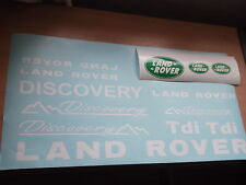 Land Rover Discovery Sticker Set Vinilo Calcomanía Discovery 90 110 TD5