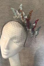 Butterfly Millinery Headpiece Hairband Fascinator