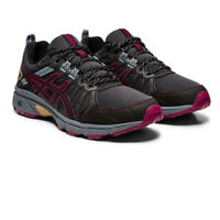 Asics Womens Gel-Venture 7 Trail Running Shoes Trainers Sneakers - Black Sports