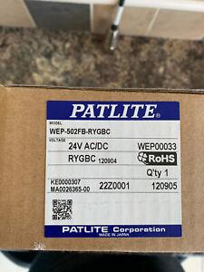 Traffic Light Signal Led Tower Patlite WEP-502FB  WITH ALARM