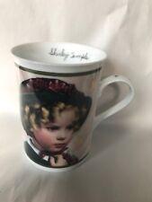 "Danbury Mint Shirley Temple Porcelain Mug ""littlest Rebel�"