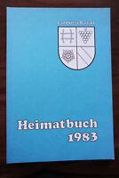 Heimatbuch 1983 - Landkreis Rastatt Geschichte Mittelbadens Otto Birg usw