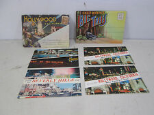 Vintage Lot of California Postcards-Souvenir Folders-Hollywood & Big Trees PC#58