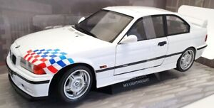 Solido 1/18 Scale Diecast S1803903 - 1990 BMW E36 M3 Coupe Lightweight - White