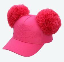 TDR Tokyo Disney Resort Pink Mickey PONPON Cap Hat Minnie