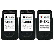 3× Cartuchos de tinta Canon PG-540 CL-541 PIXMA MX475 MG3550 MG4250 MX535 MX395