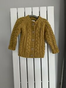 NEW NEXT BABY GIRL CARDIGAN  ribbed stretch cotton mix green mustard blue 3-24 m