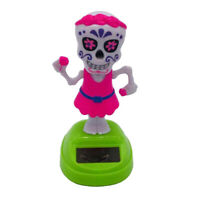 Solar Dancing Toys Bobble Head Toy Ghost Dancing Figure Toy Halloween Gifts