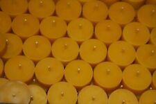 50 Bienenwachskerzen Teelichter ...