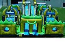 Inflatable Bounce House Castle Water Slide Obstacle Course We Finance Commercial