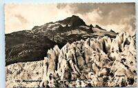 *Rhone Glacier Mountain Switzerland Rhonegletscher Vintage Photo Postcard B13