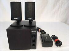 ENERGY POWER EM-2.1 KLIPSCH MULTIMEDIA SPEAKER SYSTEM FULLY TESTED VGC A+ SOUND