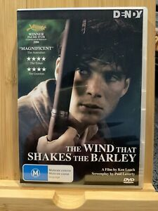 The Wind That Shakes The Barley (DVD, 2007) Region 4 Rare Ex-rental