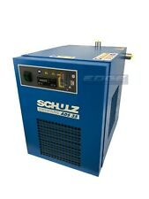 SCHULZ 35 CFM REFRIGERATED COMPRESSED AIR DRYER, 7.5HP & 10HP COMPRESSORS, 115V