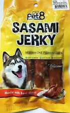 1x50G Dog Snack Food Treat Best for Pet Premium No1grade Fish Strip with Chicken