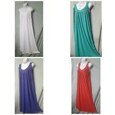 Unity Sun Dress Purple Orange Green White Sleeveless  Plus Sz  1X  2X  B3G1 FREE