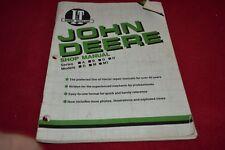 John Deere A B G H D M MT Tractor I & T Shop Manual YABE14