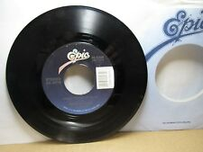 Old 45 RPM Record - Epic 34-05659 - Merle Haggard - Amber Waves of Grain / I Wis