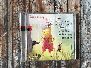 CD: Wie Kater Konrad seinen Freund wiederfand und den Rattenkönig besiegte 2CDs